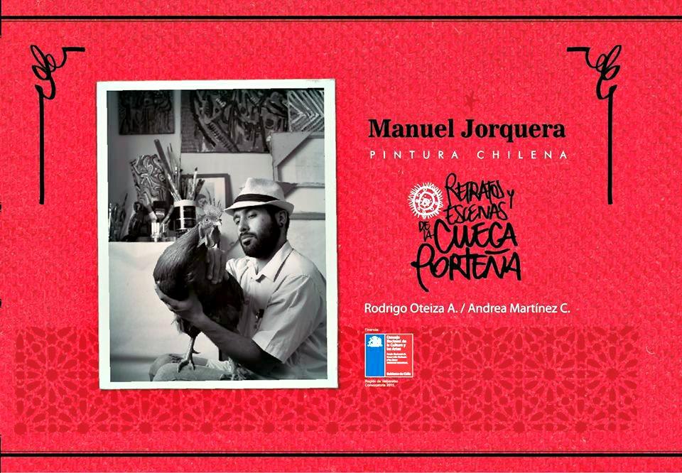Manuel Jorquera. Pintura chilena. Retratos y escenas de la cueca porteña