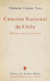 Canción Nacional de Chile. Edición crítica de la letra