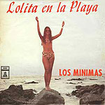 Lolita en la playa