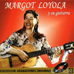 Margot Loyola y su guitarra