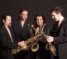 Cuarteto Latinoamericano de Saxofones