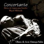 Concertante. Música de cámara para saxofón de Juan Orrego Salas