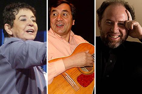 Cecilia, Nano Acevedo y Luis Alberto Latorre serán premiados en La Moneda