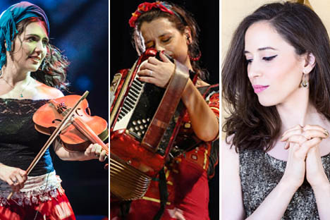 Sonidos de cinco países se encontrarán este fin de semana en el XVI Festival Músicas del Mundo
