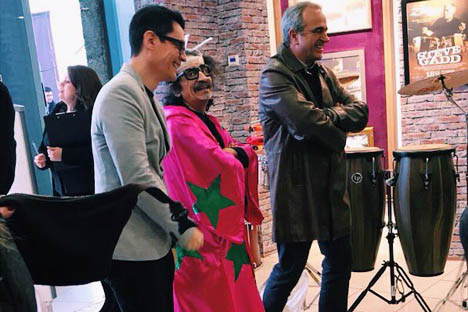 Abren el primer Paseo de la Fama de la música chilena