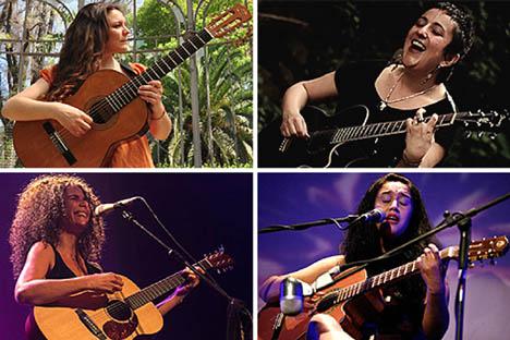 Otra afinación es posible: cuatro mujeres invitan a la Primera Cumbre de Guitarra Traspuesta Chilena