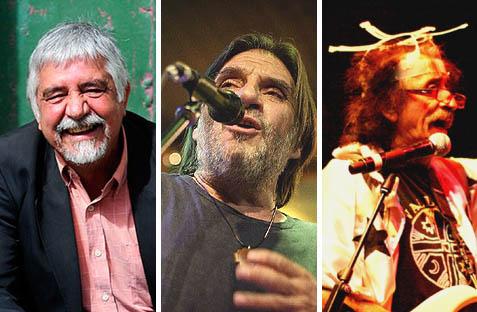 Tres músicos chilenos en la papeleta
