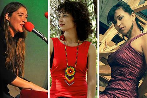 Tres cantantes y autoras citadinas comparten escenario este viernes