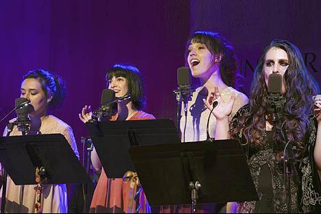 Cuatro cantantes y compositoras recrean y comparten repertorio con orquesta de cámara