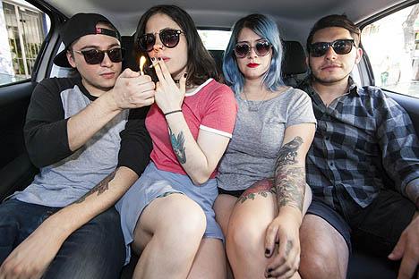 El rock alternativo de Slowkiss cruza fronteras
