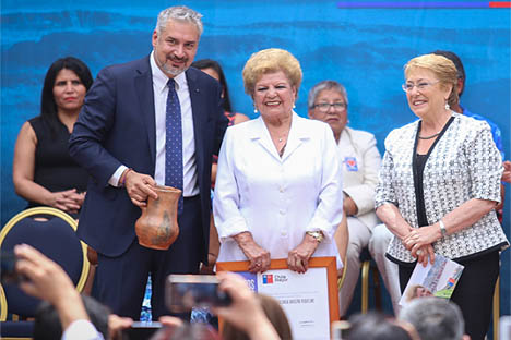 Premiados los nuevos Tesoros Humanos Vivos de Chile