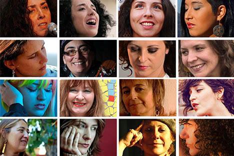 Violeteras: medio centenar de autoras estrenan un disco de homenaje a Violeta Parra
