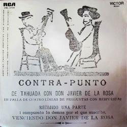 Contra-punto de Tahuada con don Javier de la Rosa