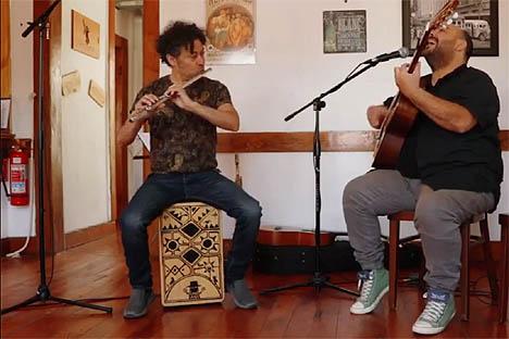 A conversar y tocar: Pedro Villagra invita a Federico Wolf