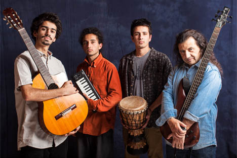 Marcelo Aedo estrena cuarteto de fusión con sus hijos músicos