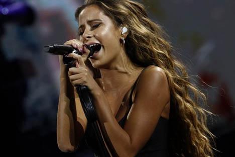 El domingo 7 de Camila Gallardo en vivo
