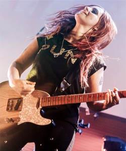 Heroína de la guitarra