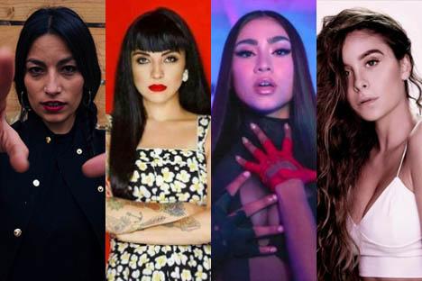 La ola femenina del pop chileno que se impone