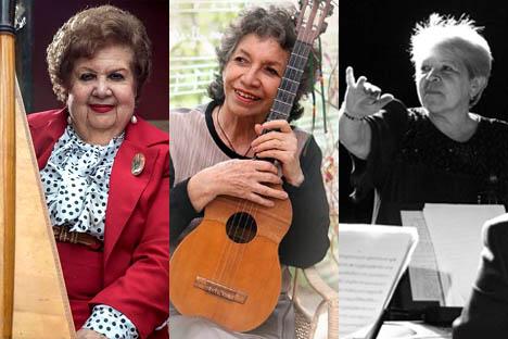 Tres mujeres del folclor lanzan candidaturas