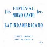 1er Festival Nuevo Canto Latinoamericano Vol II