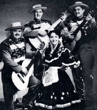 Silvia Infantas y los Baqueanos