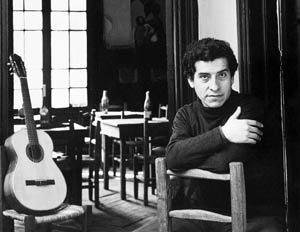 In this undated photo released by Fundacion Victor Jara appears prominent Chilean folk singer Victor Jara. A retired army colonel was indicted Thursday, Dec. 9, 2004 in the killing of Victor Jara in the opening days of the dictatorship of Gen. Augusto Pinochet. (AP Photo/Fundacion Victor Jara, Patricio Guzman) **MANDATORY CREDIT FUNDACION VICTOR JARA, PATRICIO GUZMAN **NO SALES**