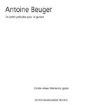 Antoine Burger. 24 petits préludes pour la guitare