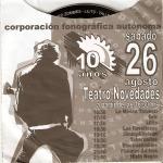 Corporación Fonográfica Autónoma. 10 años