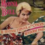 Monna Bell en el II festival español de la canción Benidorm